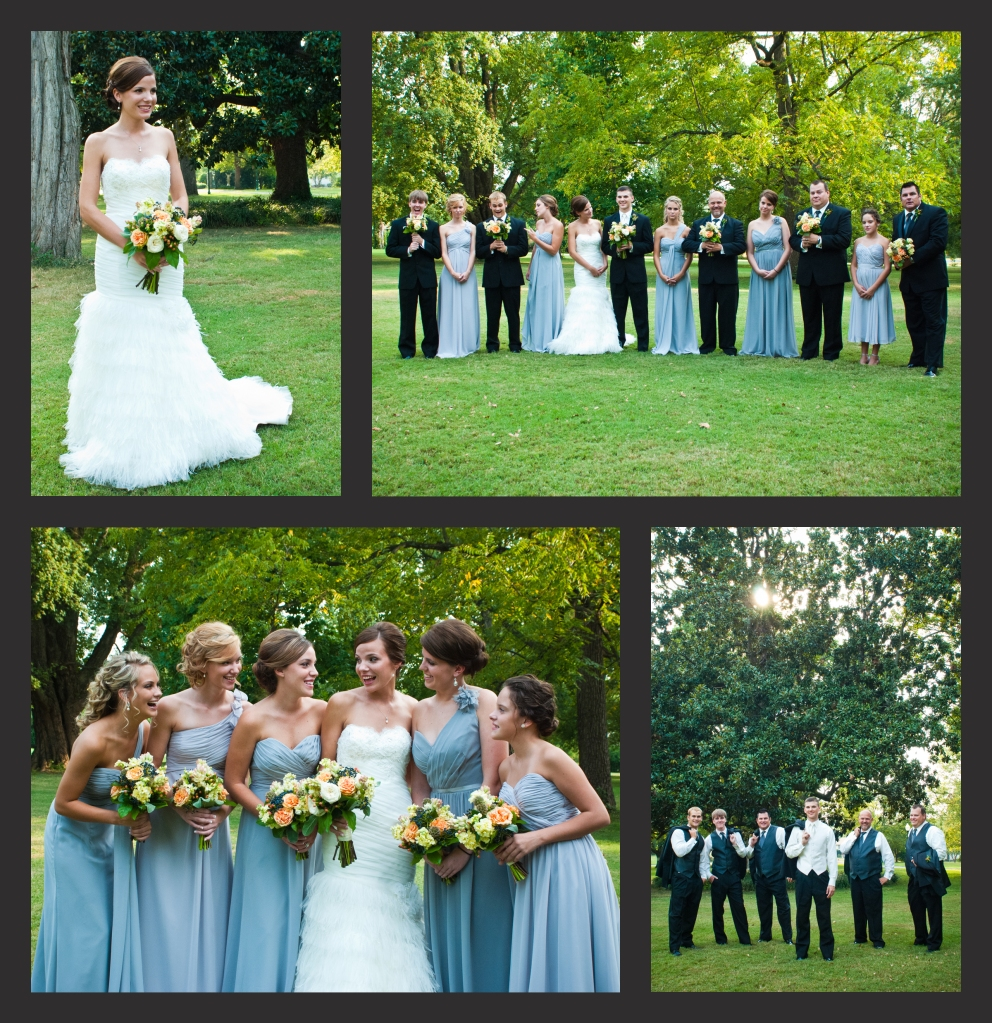 Riverwood Masnion Nashville TN Wedding Party