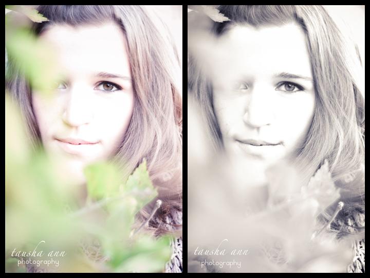 Tight Shot Face Senior Photography