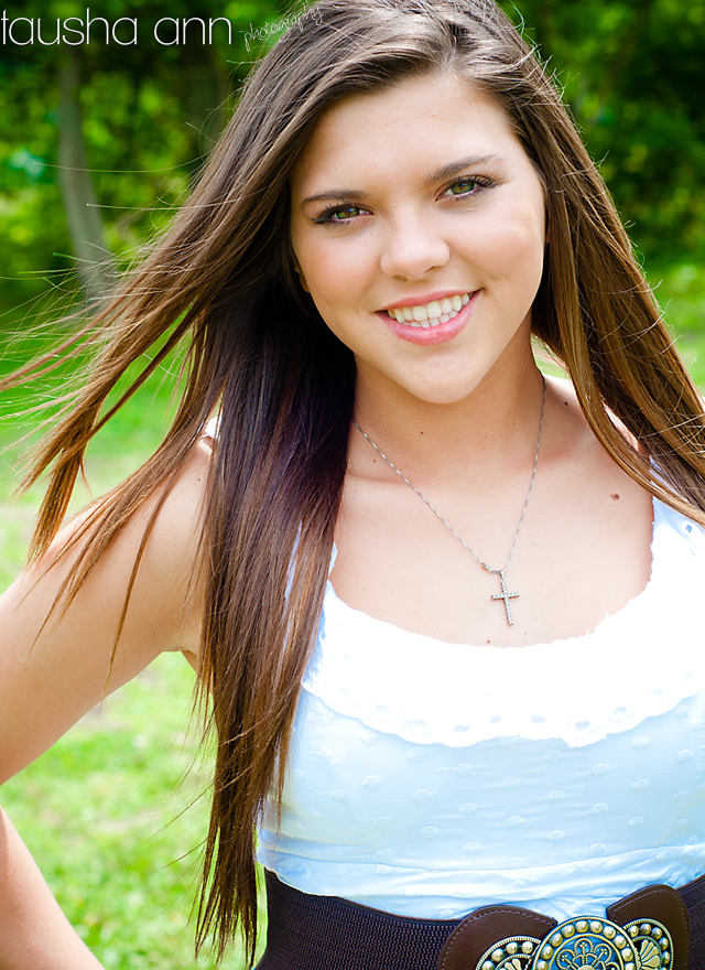 Girl With Hair Blowing In Wind Fashion Model Senior Photography
