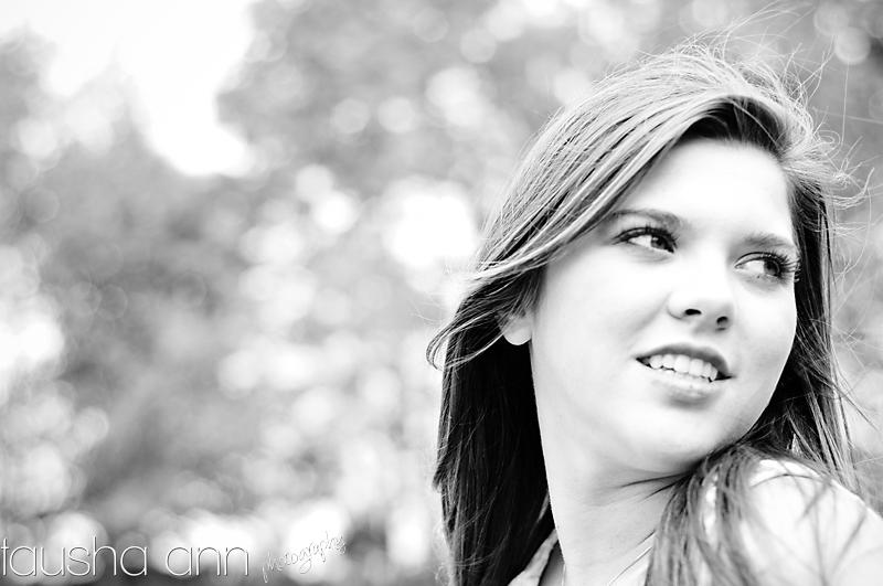 fashion model senior photography artsy black and white nashville