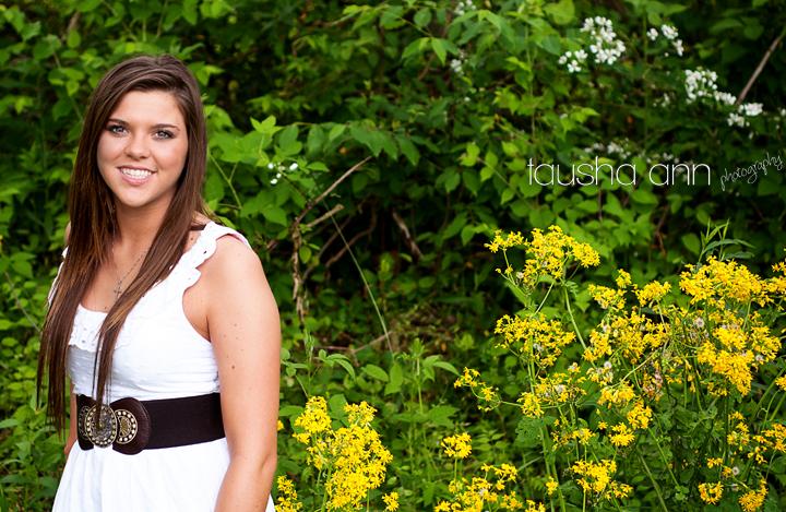Beautiful yellow flowers girl white dress
