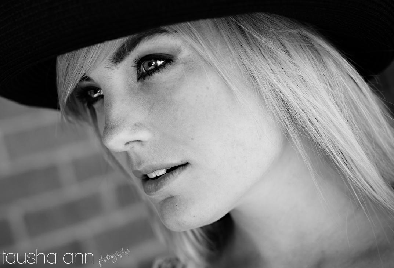 Beauty shot model photography