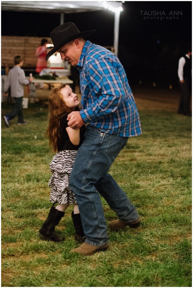 Wedding_Bride_Groom_Reception_Phoenix_AZ_Tausha_Ann_Photography-Cowboy_Dad_With_Daughter
