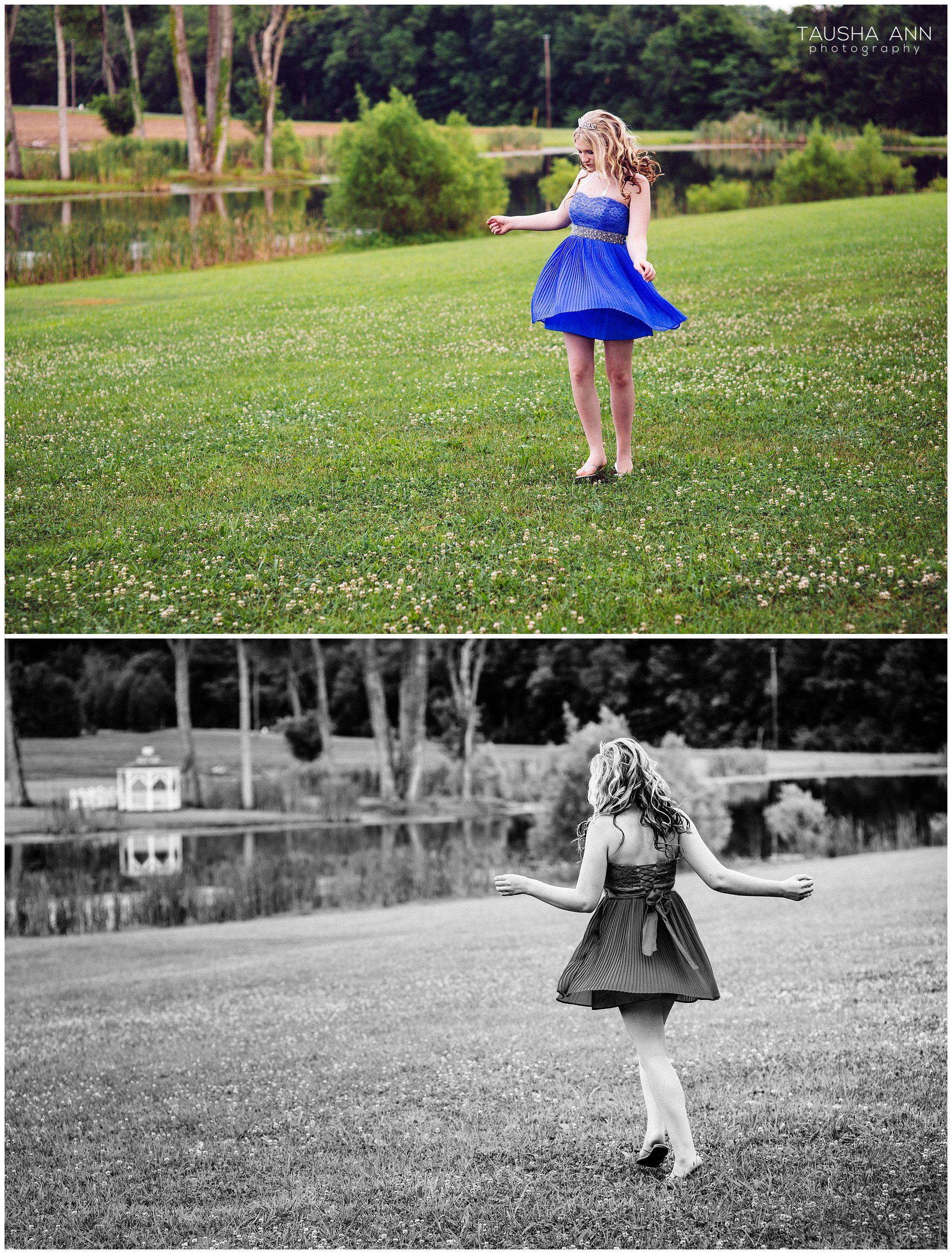 Sammie's_Sweet_16_Duck_Pond_Farm_Mt_Juliet_Tausha_Ann_Photography_Model_Nashville_Franklin_Spinning_Blue_Dress_Tiara